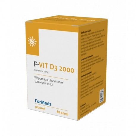 La vitamine D 2000 (60 portions)