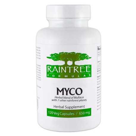Myco (Raintree Formules) 650 mg, 120 capsules